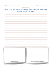 2nd grade writing prompts sample worksheet page https://momistheonlygirl.com