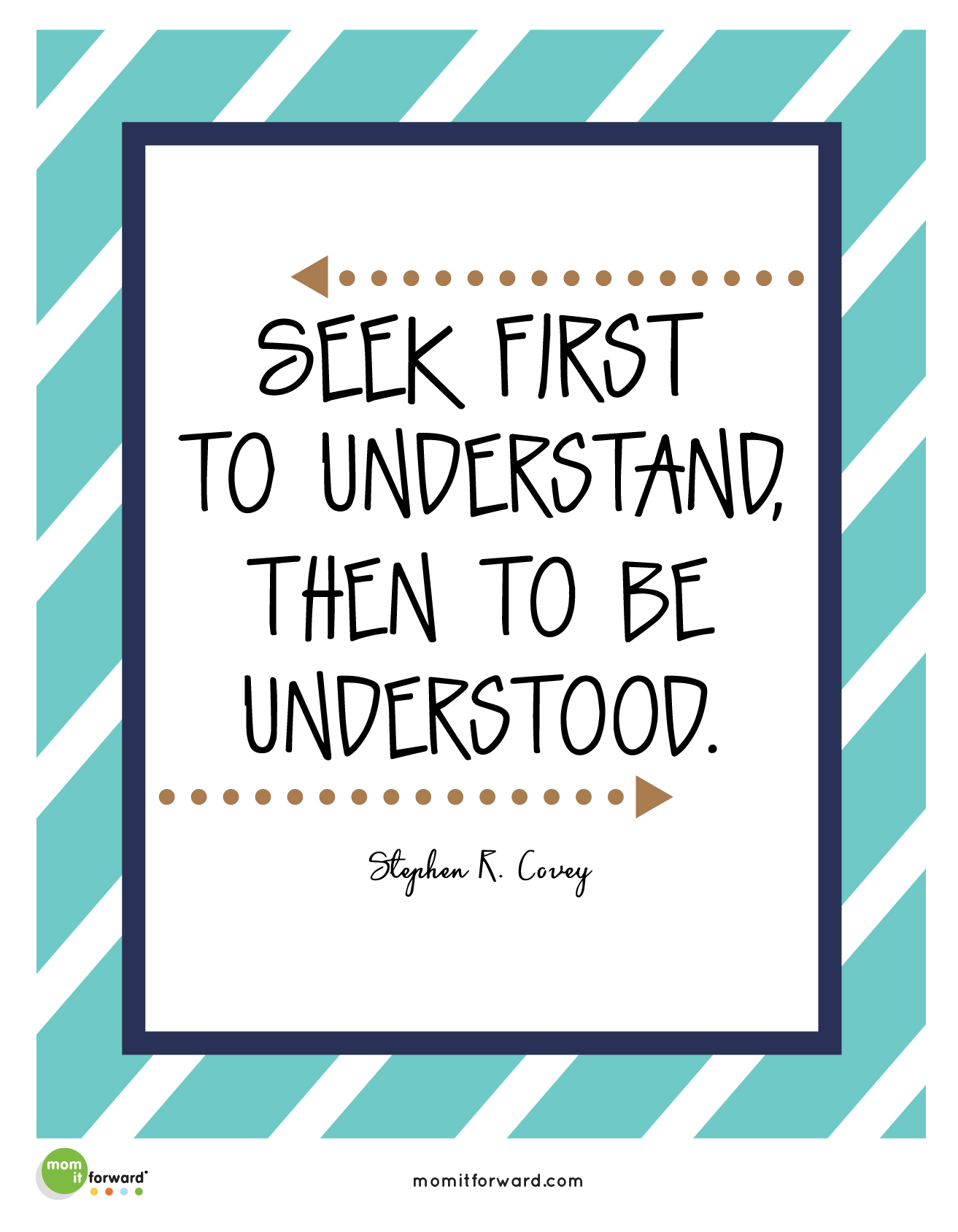 Quote Seek First To Understand