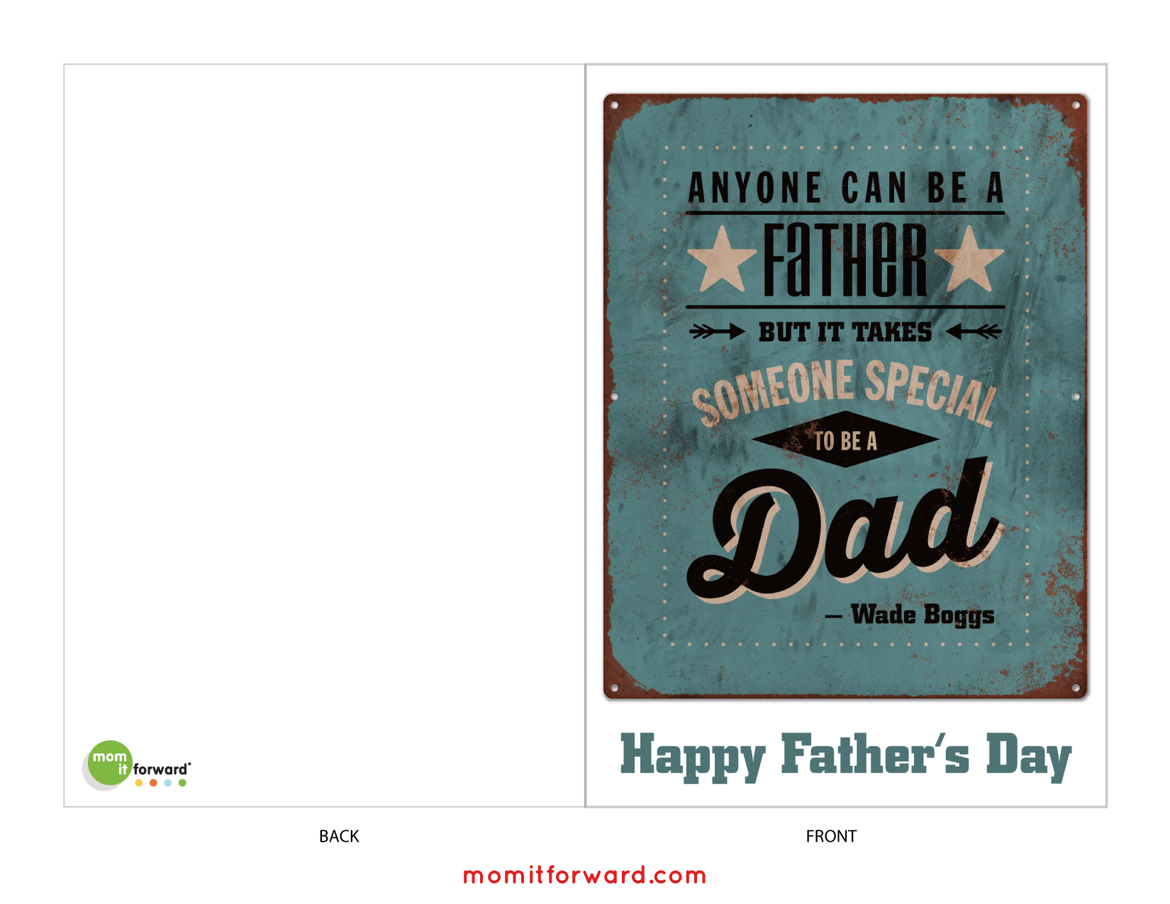 Father S Day Card Printable