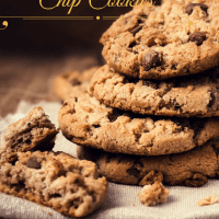 Healthy Cookies Part 2- Flourless Chocolate Chip Cookies