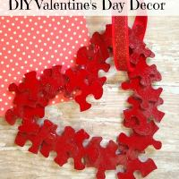 Kids Valentine Day Crafts-DIY Heart Decor Part 1