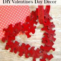 Kids Valentine Day Crafts-DIY Heart Decor Part 1