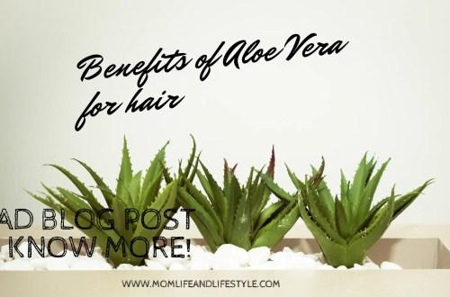 Benefits of Aloe vera for hair