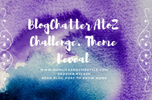 BlogChatter AtoZ Challenge,2021. Theme Reveal