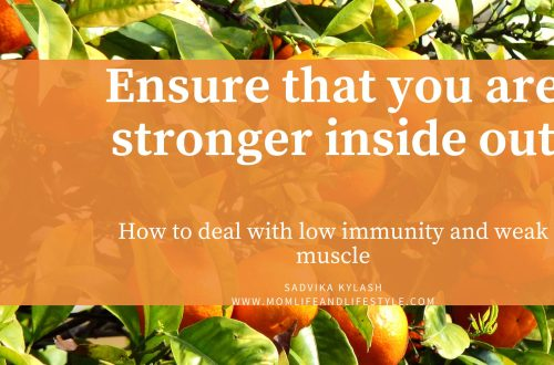Ensure that you are stronger inside out(immunity weak muscles)