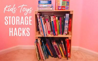 IKEA Toy Storage Hacks for Kids Playrooms