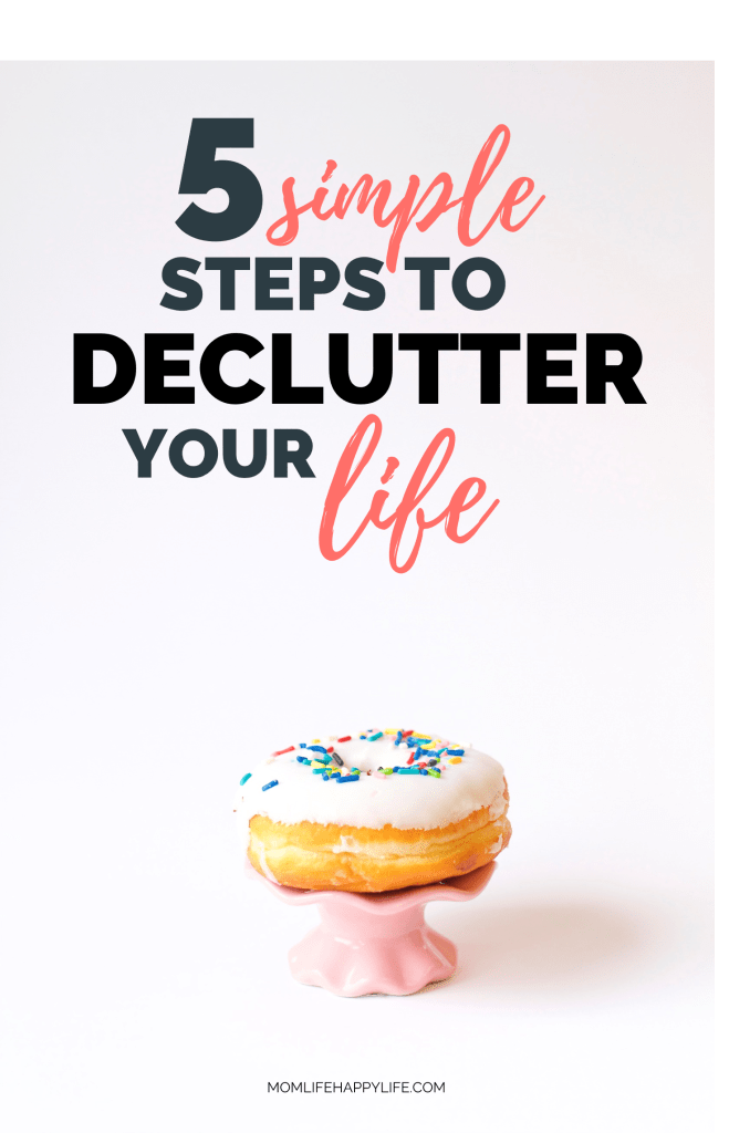 How to declutter and organize tips for your life