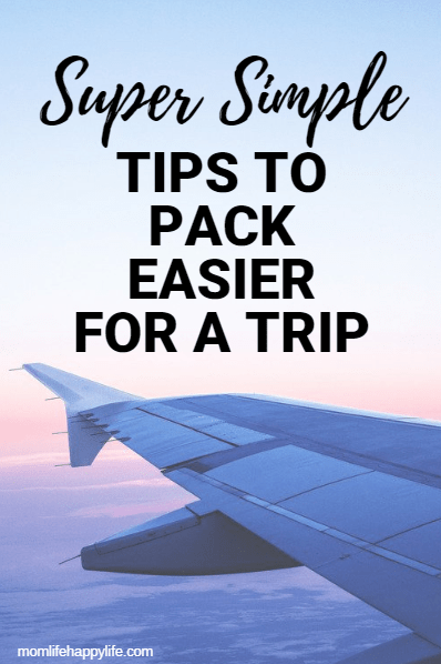 How to pack for traveling Tips