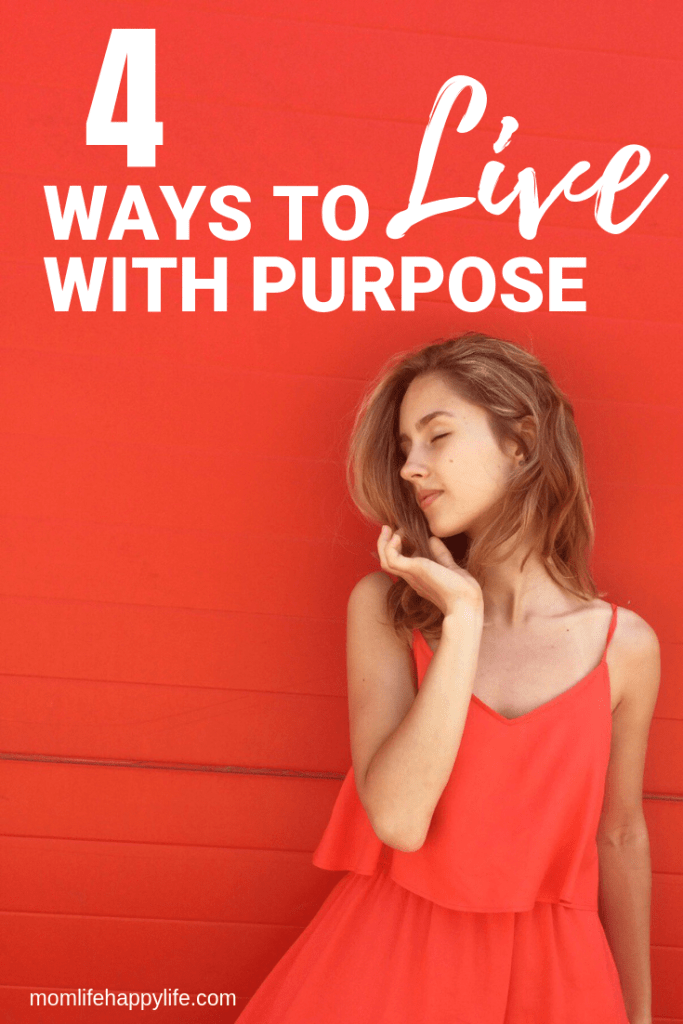How to live intentionally with purpose
