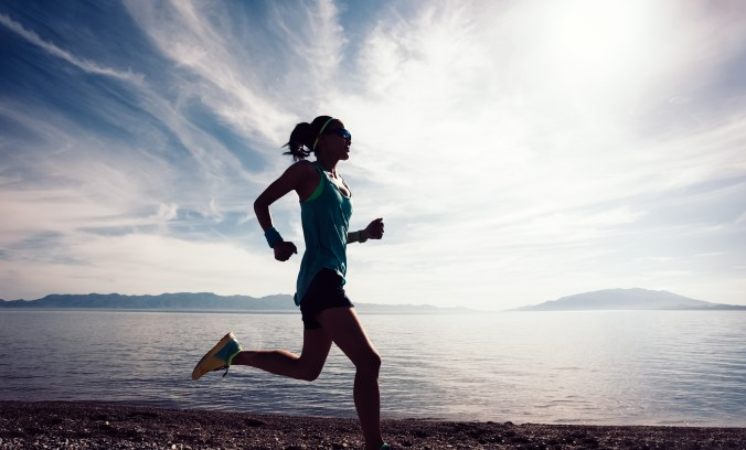 running is one to get self care for busy moms