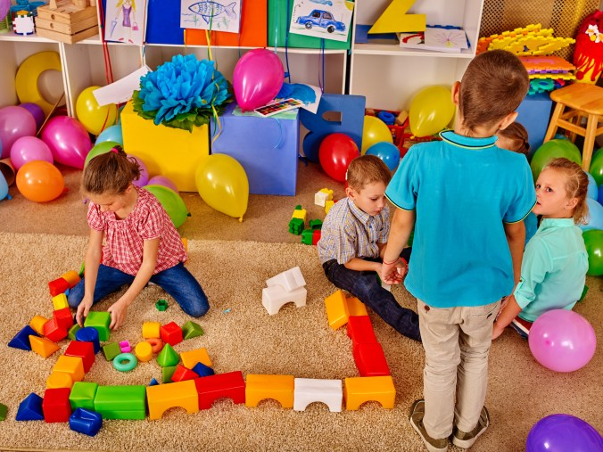 Kids making a mess on a playdate which is why you should stop cleaning your house before playdates