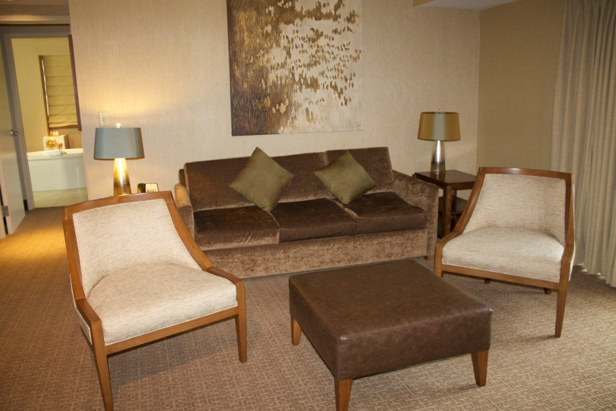 Chickasaw Retreat Sulphur Oklahoma Hotel Review living area chickasaw retreat