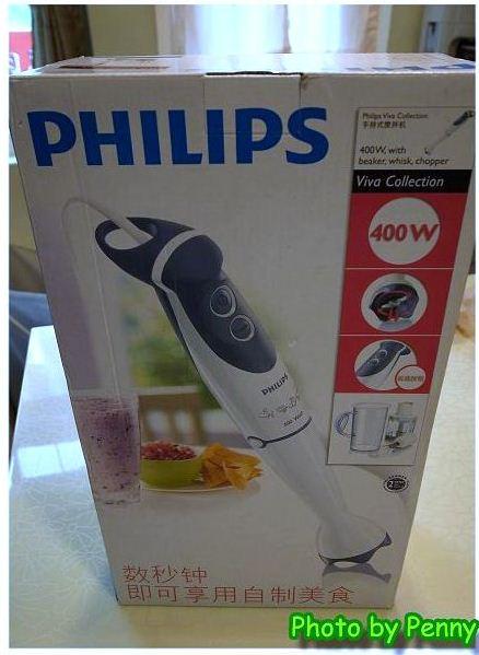 寶寶副食品的好幫手-Philips HR1364手持食物調理攪拌器 1