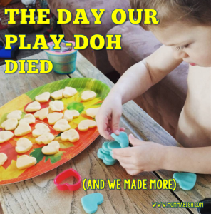 The Day the Play-Doh Died