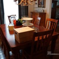 Busy Mom, Busy Life, Messy House - Dining Room -Party Planning Stress