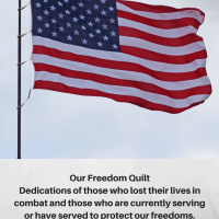 Hey Momma! What's For Dinner and Add Your Veteran To Our Freedom Quilt