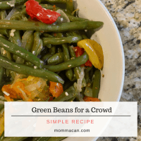 Green Beans for a Crowd Easy Recipe