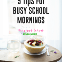 Busy School Mornings Tips