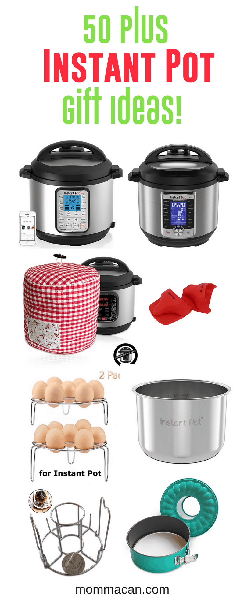 50 Instant Pot Gift Ideas And Accessories Momma Can