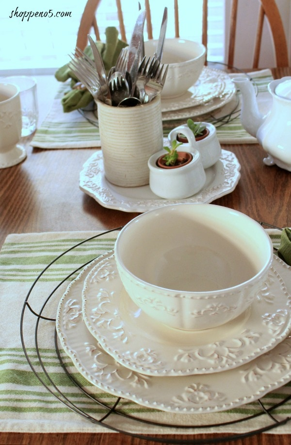 Farmhouse Look for Your Table