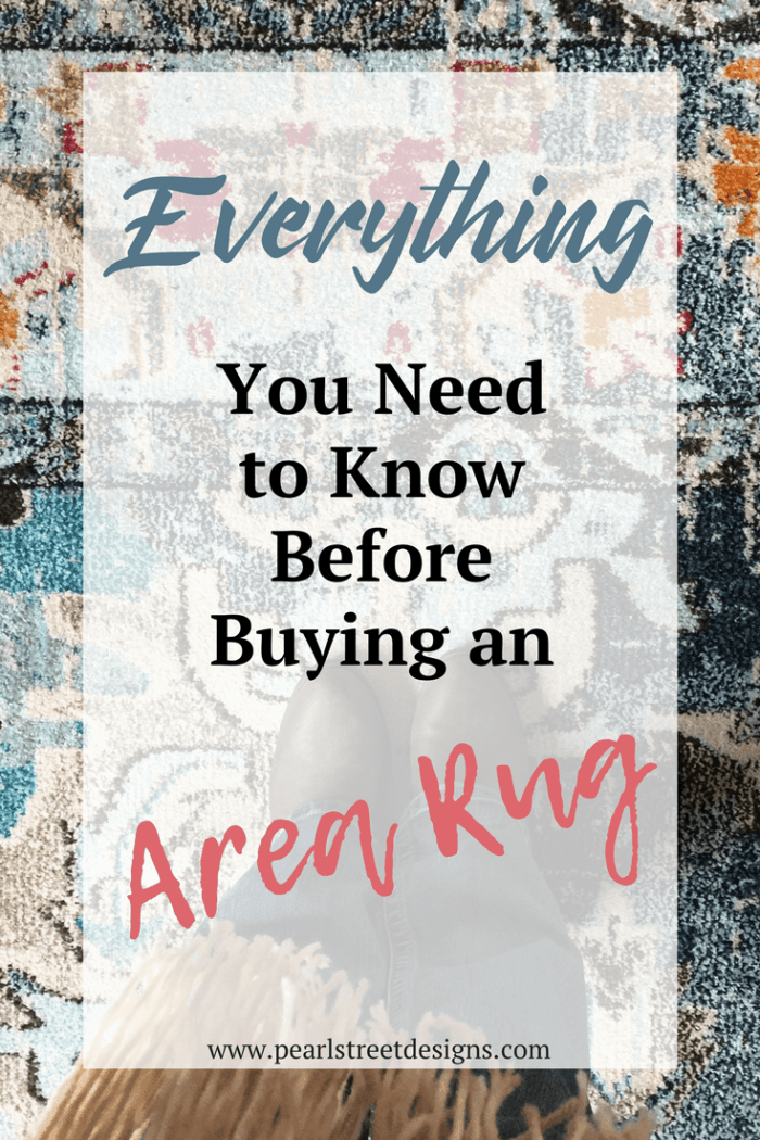 Everything You Need to KNow Before Buying An Area Rug