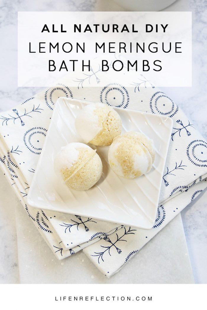 Life N Refleciton - Lemon Meringue Bath Bombs