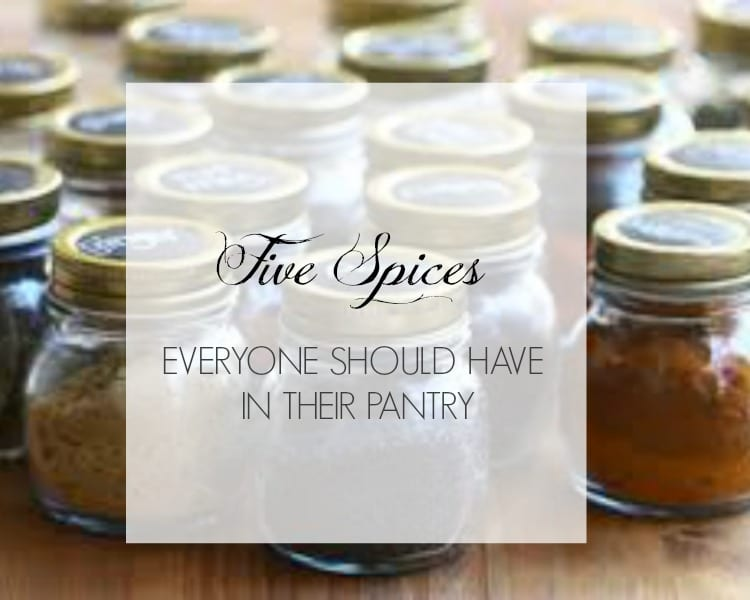 5 Spices Everyone Should Have In Their Pantry
