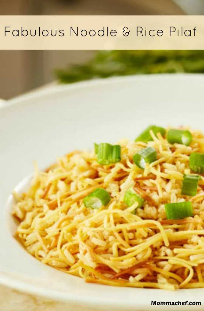 Quick and Easy Noodle and Rice Pilaf Recipe