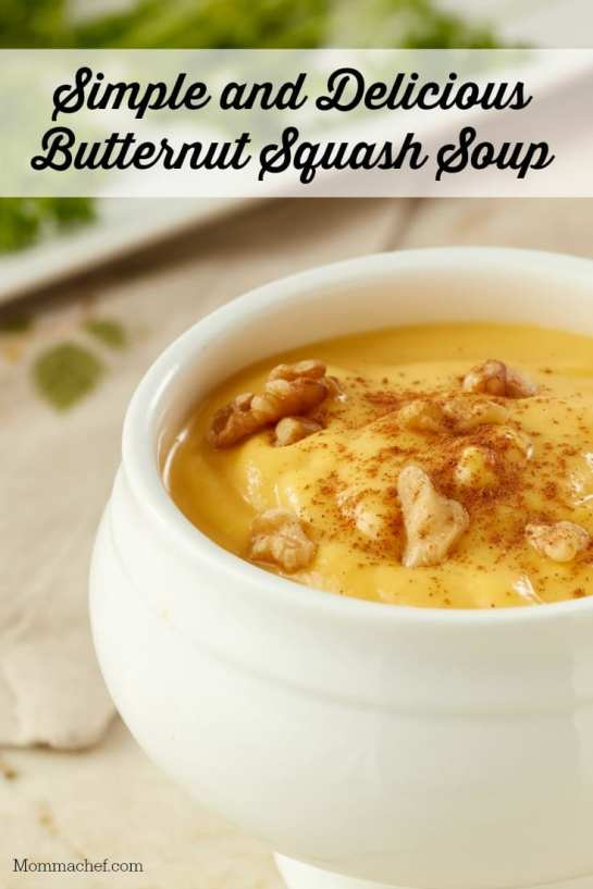 Quick and Easy: The Best Butternut Squash Soup Recipe