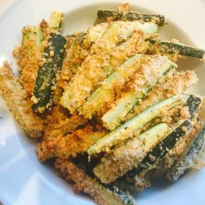 Healthy Baked Zucchini Fries