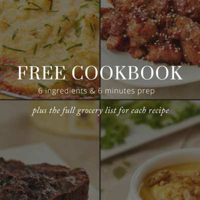 Get Your Free Momma Chef Cookbook with a Full Grocery List