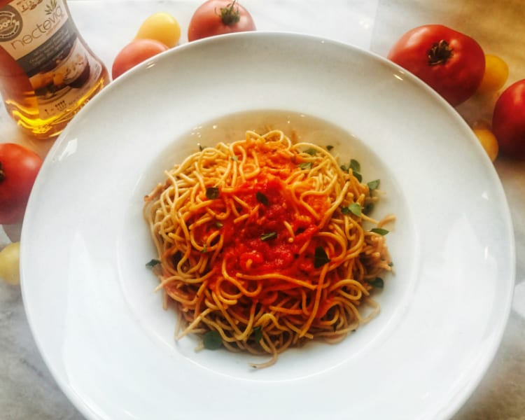 Homemade and Healthy Pasta Sauce in a Snap