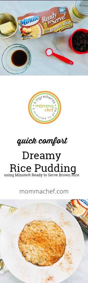 Quick and Easy Dreamy Rice Pudding