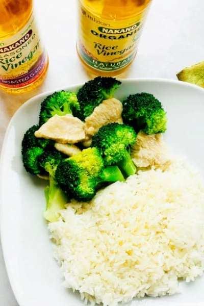 Garlic-Infused Sticky Rice