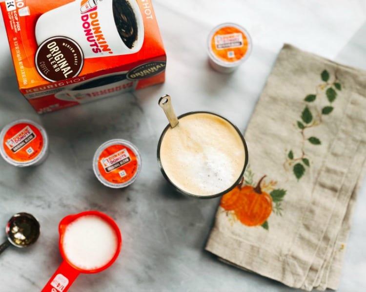 Keto-friendly Hazelnut Latte