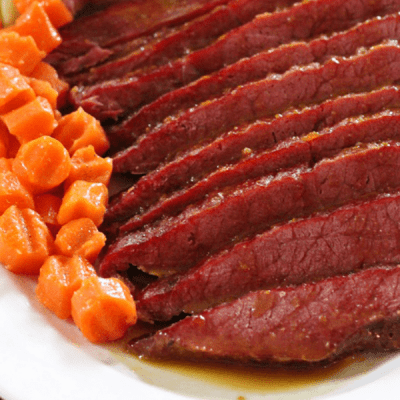 Quick and Easy Honey Glazed Corned Beef