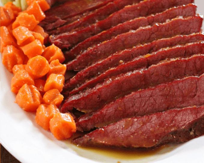 Quick and Easy Honey Glazed Corned Beef
