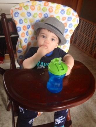 Every kid needs a breakfast hat.