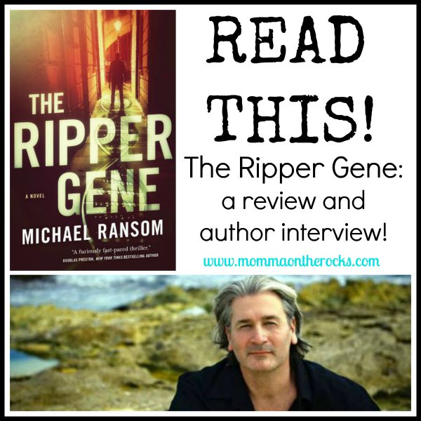 #ReadThis The-Ripper-Gene #bookreview #authorinterview