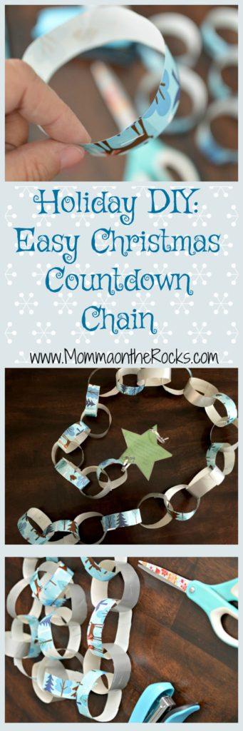 Diy Easy Christmas Countdown Chain Momma On The Rocks