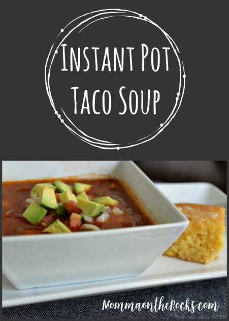 Taco-Soup, Instant-Pot