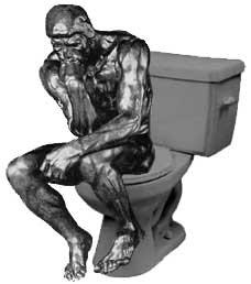 Thinking on Toilet