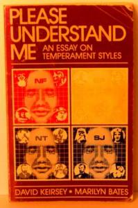 Keirsey Please Understand Me Original Cover