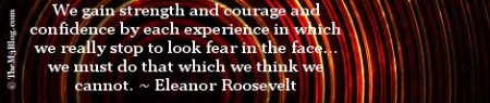 G+ Cover Eleanor Roosevelt quote fear