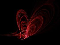 Heartfly Fractal Art