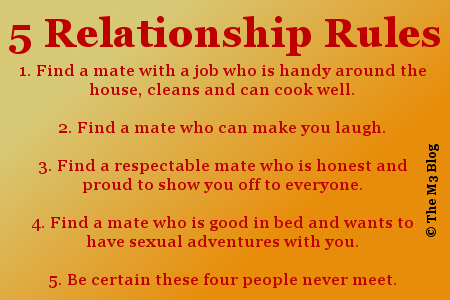 6 relationship rules