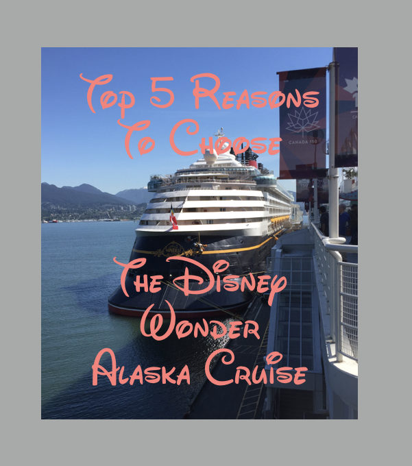 Disney Wonder Alaska Cruise 2017