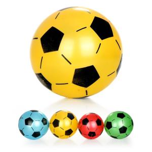 כדורים כדור PVC כדורגל מטאלי - Mom & Me