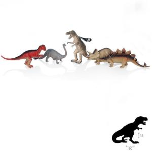 Animogo Animogo דינוזאורים 12 אינצ' בדיספליי - Mom & Me
