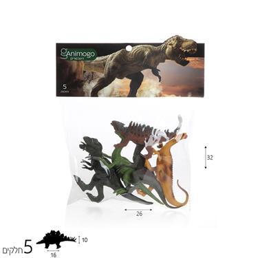 Animogo Animogo דינוזאורים 5 יח' - Mom & Me